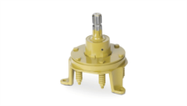 FRP - Limitatore di coppia a dischi d'attrito combinato con ruota libera e fissaggio a piedini