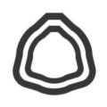 Profilo telescopico trilobato
